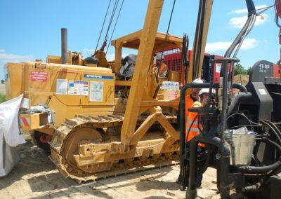 working platforms crane mats
