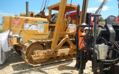 Using Bog Mats or Crane Mats for Working Platforms
