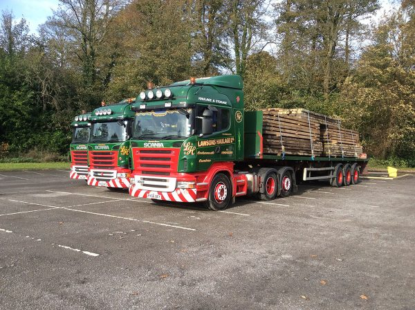 timber mat delivery