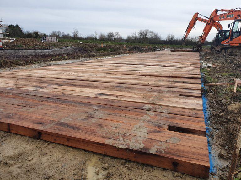 Bog mats build mat pro on site