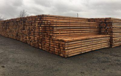 Bolts and Weight – Hardwood Timber Mats