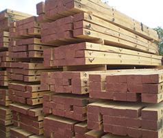 oak timber mats